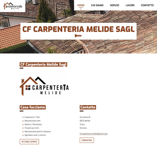 Screenshot CF Carpenteria Melide