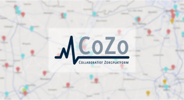 Screenshot Collaboratief Zorgplatform (CoZo)